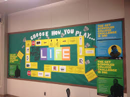 Spring Bulletin Board Ideas For College