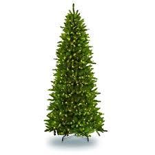 Puleo International 6 1 2 Ft Pre Lit Slim Fraser Fir Artificial Christmas