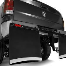 Husky Liners 17010 - Black Hitch Mounted Mud Flaps For 2