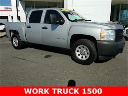 Pre-Owned 2011 Chevrolet Silverado 1500 Work Truck 4D Crew Cab In ... New 2019 Chevrolet Silverado 2500hd Work Truck Crew Cab Pickup In 2018 1500 Regular 3500hd Nampa D180544 4wd Double 1435 2016 Black Roy Nichols Motors 2d Standard Near 2015 Used Work Truck At Of Extended Preowned 2005