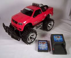 Tyco RC Remote Control FORD Truck SVT Lightning 6.0V For Parts Or ... Amazoncom Velocity Toys Jeep Wrangler Remote Control Rc Truck Big Cars Trucks Hukoer Car Top Selling 24ghz 112 Scale High Speed Babrit F11 24ghz 2wd Fstgo 118 Metal Shell Offroad Vehicles 24 Rc 24g 20kmh Racing Climbing Us Intey Amphibious 4wd Off Road Officially Licensed Nfl Monster For 3499 2 In 1 Forklift Crane Rtr For Boys Grave Digger And 50 Similar Items Semi Australia Fancy Adults Best
