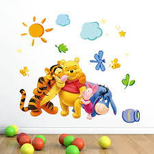 Winnie The Pooh Nursery Decorations by Baby Nursery Decorative Wall Stickers As Nursery Decorations