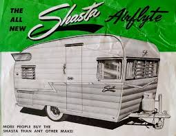 1961 Shasta Trailer Airflyte