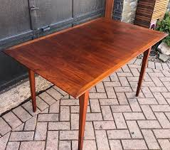 REFINISHED Custom MCM Walnut Table W 2 Leaves & 6 Chairs ... Ding Table Ideas Articulate Rectangular Glass Dectable Extending Round South And Best Small Kitchen Tables Chairs For Spaces Folding Ding Table And Chairs Folding Rovicon Purbeck Appealing Modern Wooden Mills Wood Designs De Cushions Room Lighting Chair 4 Perfect Small Spaces In W11 Chelsea Very Fniture Space Free Shipping 6 Seater Mable Ding Table Set Meja Makan Batu Marfree Chair Ausgezeichnet Long Narrow Legs