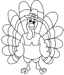 Thanksgiving Has Been Give Gifts Coloring Page
