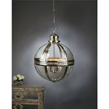 large clear globe pendant light glass hover zoom