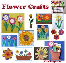 Flower Garden Preschool And Kindergarten Crafts