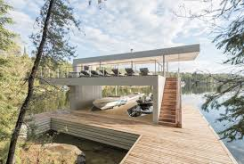 100 Boathouse Designs This Breathtaking Ontario Reveals Unexpected Surprises