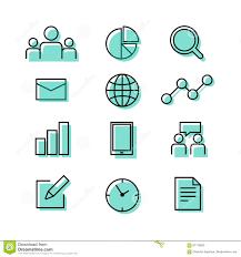 Papel De Carta Del Gráfico Del Trabajo En Equipo Del Negocio E Icono