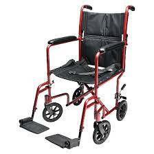 Transport Chair Or Wheelchair by Everest U0026 Jennings Aluminum Transport Chair Blue And Red Target