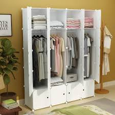 2019 DIY Portable Wardrobe Clothes Closet Modular Storage Organizer