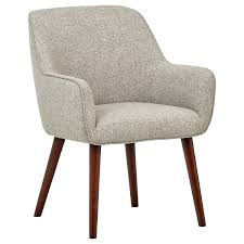 Rivet Julie Mid-Century Modern Kitchen Swope Accent Dining Room Chair,  23.6