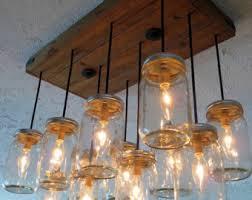 jar lighting etsy