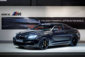 2013 BMW M Award BMW M6 Coupe Frozen Black for best MotoGP qualifier