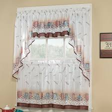 Kmart Red Kitchen Curtains by Curtains Walmart Kitchen Valances Kitchen Curtains Target