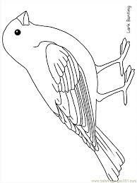 Free Bird Coloring Pages Printable Birds