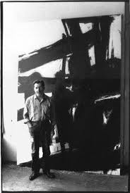 American Artist Franz Kline 1910 1962 In His Studio Photographed By John Cohen