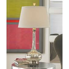 Fillable Glass Table Lamp Australia by Lighting Decorative And Antique Mercury Glass Table Lamp For Your