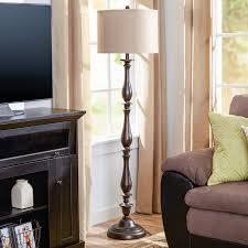 Curved Floor Lamp Next by Ivory U0026 Cream Shade Floor Lamps You U0027ll Love Wayfair