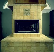 integrated arts craftsman fireplace design