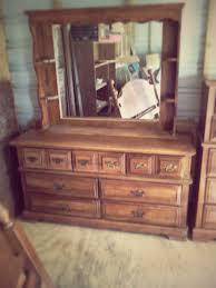 Tiger Oak Serpentine Dresser by Oak Dresser With Mirror Gallery That Really Fascinating To Design