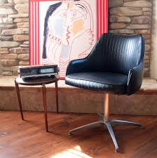 Reserved: 1967 VINTAGE MCM BLACK Chromcraft Chair Mod Mid ...