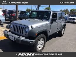 2017 Used Jeep Wrangler Unlimited Sport 4x4 At Kearny Mesa Toyota ... Trucks Unlimited 12 Photos Trailer Dealers 168 S Vanntown 2018 Nissan Versa Sedan For Sale In San Antonio Arrow Inventory Used Semi For Sale Texas Monster Jam January 21 2017 Hooked Line X Custom Exotic New Ford F 150 Lariat Truck Paper Courtesy Chevrolet Diego The Personalized Experience Hino 268a 26ft Box With Liftgate This Truck Features Both American Simulator Cat 660 Moving A Mobile Home Carlsbad To 2019 Freightliner 122sd Dump Ca