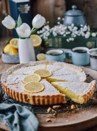 zitronen buttermilch shortbread tarte frühlingsgefühle