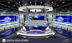 Virtual Tv News Set 1 Sets That Are Required For Any Modern Show TV Channels This Studio Background Is Ideal Use In A New