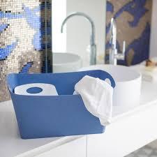 koziol aufbewahrungsbox boxxx l box kiste korb aufbewahrung thermoplastischer kunststoff organic blue 15 l 5743671