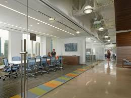 Offices And Conference Rooms Have Glass Walls To Take Advantage Of Miamis City Bay Views Create A Sense Transparency