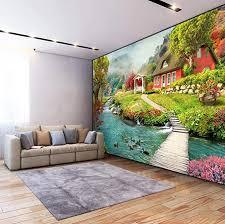 wandbild tapete 3d pastoral landschaft foto wandmalerei