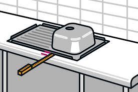 arbeitsplatte einbauen anleitung hornbach