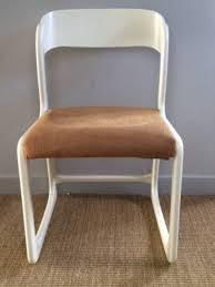 chaise traineau baumann chaises traineau baumann vintage style scandinave