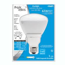 shop bright effects 15 watt 65w br30 medium base daylight 6500k