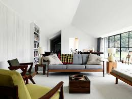 Fabulous Rustic Mid Century Modern Living Room With Drk Architects