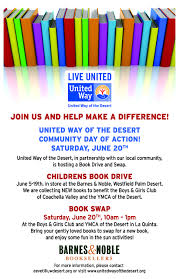 Community Day Of Action - Children's Book Swap | United Way Of The ... Bn Santee Bnsantee Twitter Events Maryann Ridini Spencer Centrally Located Luxurious Palm Desert Ho Vrbo Fun Interview With Iheart Radio Show Talk Host Marianne Barnes And Noble Store California Usa Stock Photo On Dont Miss Bishop Charles Shannon At Westfield Seritage Patricksmercys Most Teresting Flickr Photos Picssr Online Bookstore Books Nook Ebooks Music Movies Toys A Shoppers Paradise