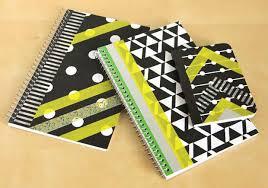 Decorative 3 Ring Binders by Hello Wonderful 7 Notebook And Binder Diy U0027s To Make Organizing Fun