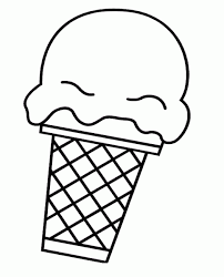 Coloring Pages Of Big Ice Cream Scoop