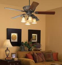 Contemporary Ceiling Fans With Uplights by 52