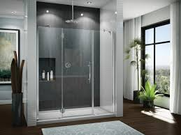bathroom great bathroom design with shower stool using glass door
