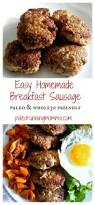 Paleo Pumpkin Custard Whole30 by Easy Homemade Breakfast Sausage