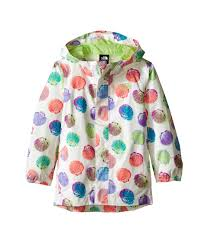 the north face kids printed tailout rain jacket toddler at 6pm