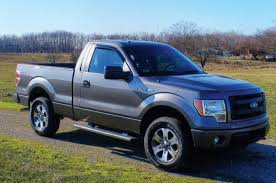 2013 Ford F-150 Reviews And Rating   Motor Trend 2014 Vs 2015 Ford F150 Styling Shdown Truck Trend 2017 Raptor Colors Add Offroad Digital Trends Force Two Screen Print Appearance Package Style Motor Company Timeline Fordcom New For Trucks Suvs And Vans Jd Power Cars F350 Platinum Review Rnr Automotive Blog Ram 1500 Chevrolet Silverado One Hockey Stripe F250 Super Duty Photos Informations Articles Bestcarmagcom