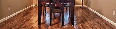 Dining Room Hardwood Floor For Lake Country Homes