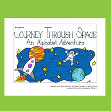 Journey Through Space An Alphabet Adventure Sample Book