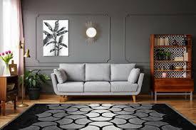 moderner teppich klassisch 3d design wohnzimmer beige braun