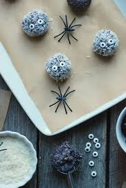 Healthy Halloween Candy Tips by Healthy Halloween Snack Wild Blueberry Snack Balls