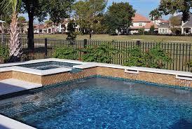 outdoor pool tiles waterline pool tile ideas nautilus