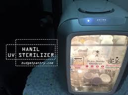 Uv Sterilizer Cabinet Singapore by Baby Hanil Uv Sterilizer Review Promo Code Budgetpantry